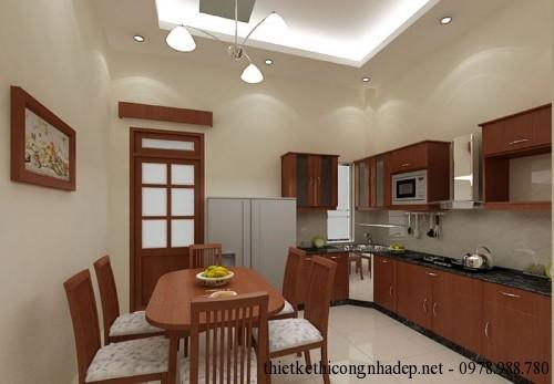 Nội thất phòng bếp phương án 1