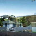 Mẫu biệt thự Villas 2 tầng phong cách hiện đại