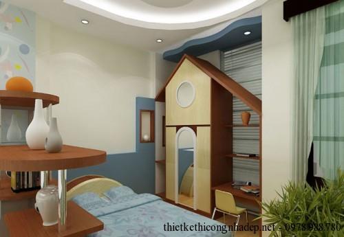 Phòng sinh hoạt chung góc 4