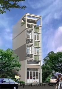 Giải pháp xây dựng nhà 32m2 4 tầng với mặt tiền 3.5m