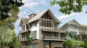 Bản vẽ thiết kế nhà biệt thự đẹp 3 tầng mái thái hiện đại