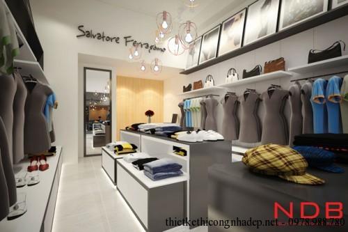phối cảnh cửa hàng thời trang góc 2