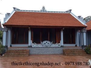Thiết kế nhà thờ họ, từ đường họ Phan tại Nam Định