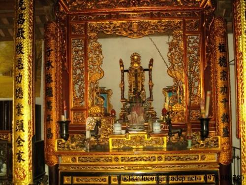 Nội thất bàn thờ