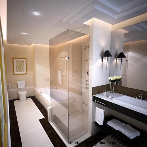Nội thất phòng tắm bố mẹ