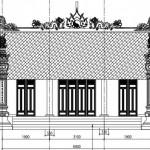 Mẫu thiết kế nhà thờ họ bê tông cốt thép có hậu cung