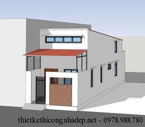 2 mẫu nhà cấp 4 đơn giản mái tôn 4.5x15m và 5x19m