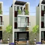 Tư vấn thiết kế nhà 2,5 tầng trên lô đất diện tích 5×18.3m