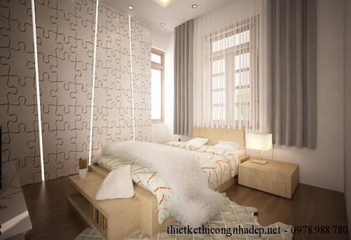 phòng ngủ nhà cấp 4 11.5x21m