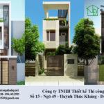 Tư vấn thiết kế kiến trúc, nội thất nhà 3 tầng 3.5x13m