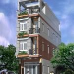 Mẫu thiết kế nhà phố 4 tầng đẹp hiện đại 4x15m