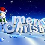 Chúc mừng ngày lễ Thiên Chúa giáng sinh (Merry Christmas)