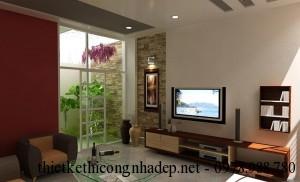 Thiết kế và thi công nội thất nhà phố 4 tầng 5x16m