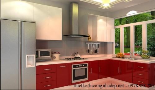 Tủ bếp phòng bếp