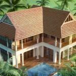 Thiết kế kiến trúc và nội thất biệt thự nhà vườn 2 tầng