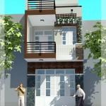 Thiết kế nhà phố 3 tầng kết hợp làm nhà hàng 12x17m
