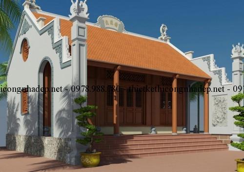 Mẫu thiết kế nhà thờ họ, từ đường đẹp tại Hưng Yên