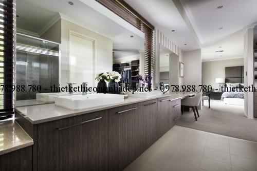 Lavabo vệ sinh phòng ngủ master