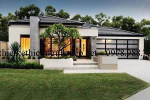 Thiết kế biệt thự nhà vườn đẹp 3 phòng ngủ 13x30m