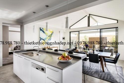 Phòng bếp biệt thự 14x20m