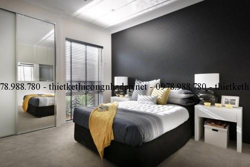 Phòng ngủ biệt thự 14x26m
