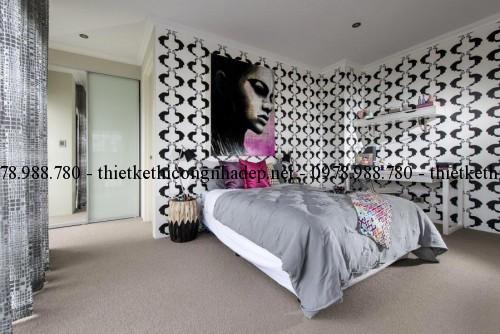 Phòng ngủ con 2 biệt thự 13x30m
