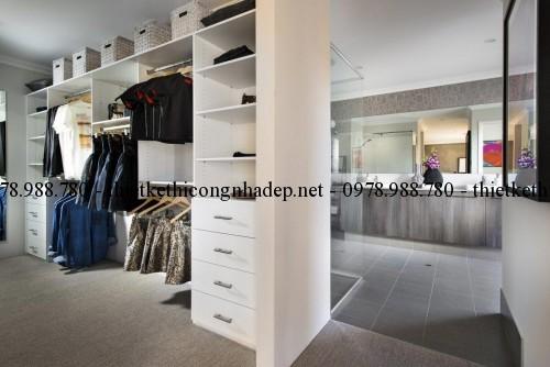 Phòng thay đồ biệt thự 14x20m