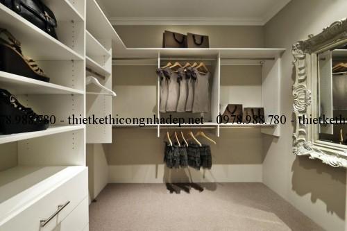 Phòng thay đồ biệt thự vườn 12x26m