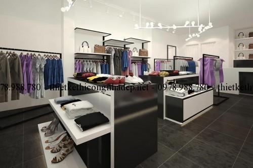 Nội thất cửa hàng quần áo thời trang