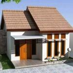 Thiết kế kiến trúc nhà cấp 4 hiện đại giá 150 triệu 6x8m