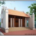 Mẫu thiết kế và dự toán nhà từ đường đẹp tại Thanh Hóa