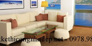 Xu hướng sofa phòng khách đẹp dành cho chung cư