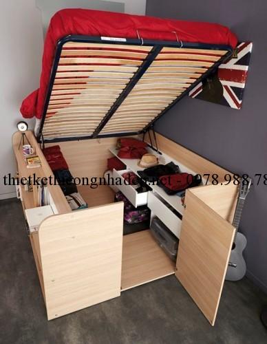 Mẫu giường ngủ độc đáo số 1 góc 2
