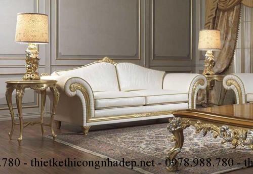 Mẫu sofa cổ điển số SCD10
