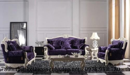 Mẫu sofa cổ điển số SCD11