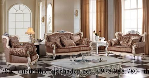 Mẫu sofa cổ điển số SCD13