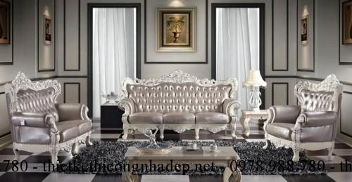 Mẫu sofa cổ điển số SCD14