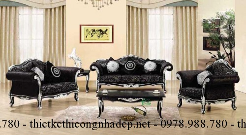 Mẫu sofa cổ điển số SCD16