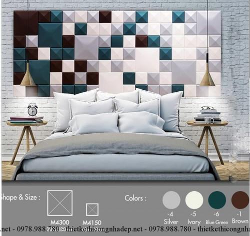 Ốp tường 3D phòng ngủ