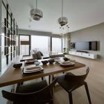 Mẫu thiết kế nội thất căn hộ chung cư đẹp cao cấp