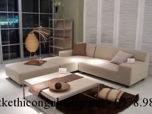 Chọn ghế sofa phòng khách với những gam màu phù hợp với mùa hè