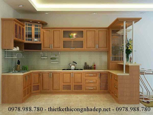 Thiết kế nội thất và sắp xếp nhà bếp theo phong thủy sẽ mang lại tài khí cho gia chủ