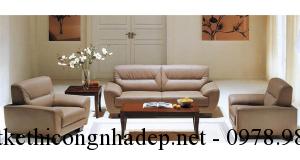 Chọn sofa phòng khách đẹp cho người mệnh Thổ