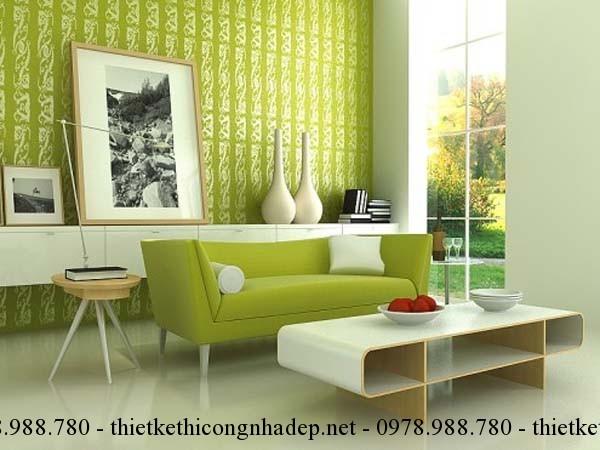 Cách chọn màu sắc sofa phòng khách cho người mệnh Kim