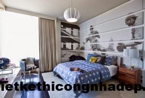 Thiết kế nội thất phòng ngủ cá tính cho bé trai