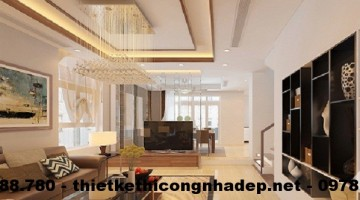 Thiết kế nội thất biệt thự Hyundai HillState Hà Đông