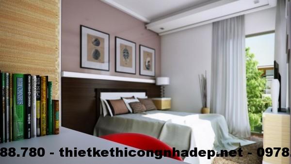 Nội thất phòng ngủ biệt thự 12x13m