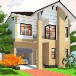 Thiết kế mẫu biệt thự 2 tầng mái thái đẹp 9x13m