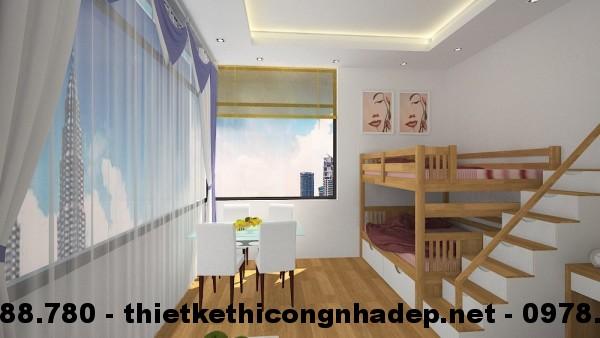 Phòng ngủ cho bé góc 1