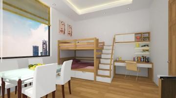 Thiết kế nội thất phòng ngủ cho bé tại Gia Lâm